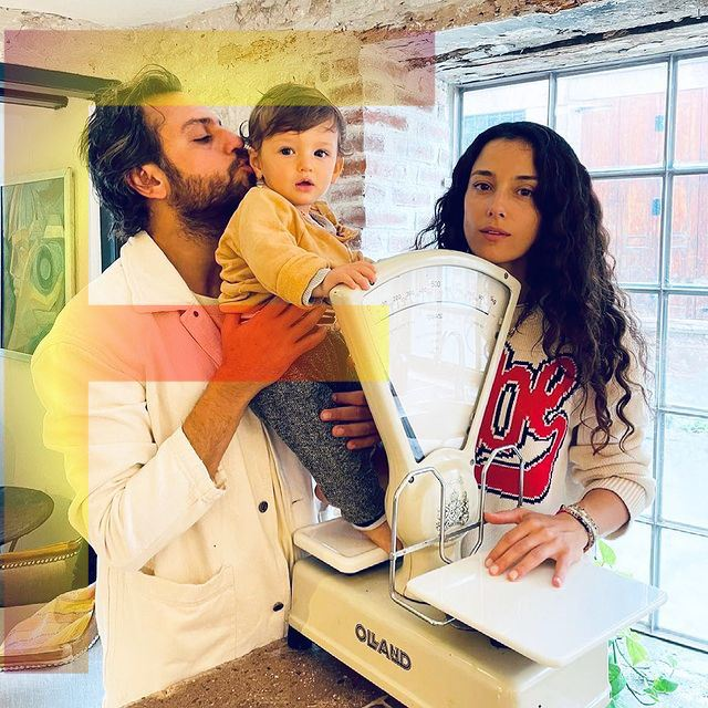 Cansu Tosun and her husband