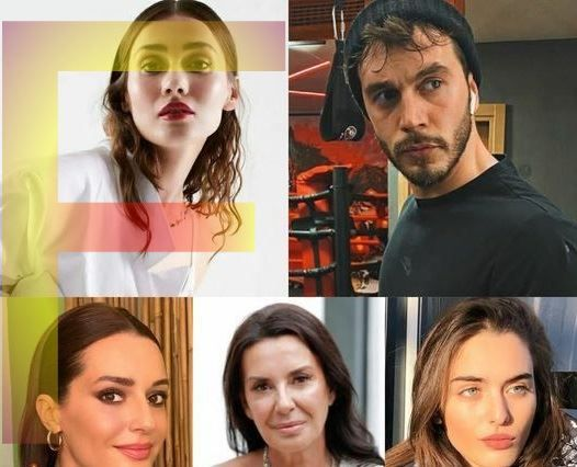 The cast of our series